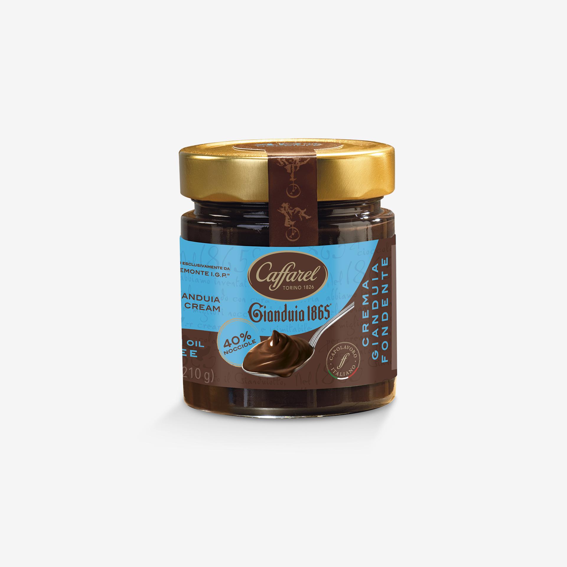 Gianduia 1865: Dark Cream 40% with Piedmont Hazelnuts P.G.I.