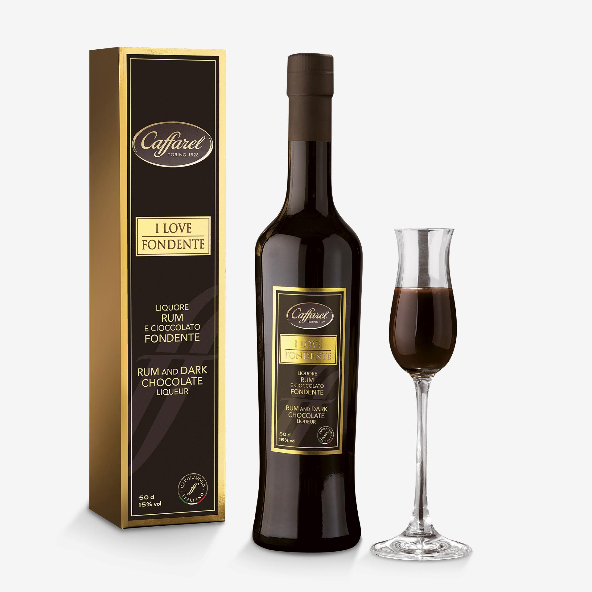 I Love Fondente: Rum and dark chocolate Liqueur