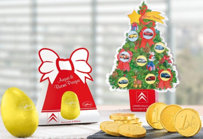 Regali Di Natale Personalizzati Per Aziende.Confezione Alberello Di Natale Personalizzabili Per Aziende Caffarel