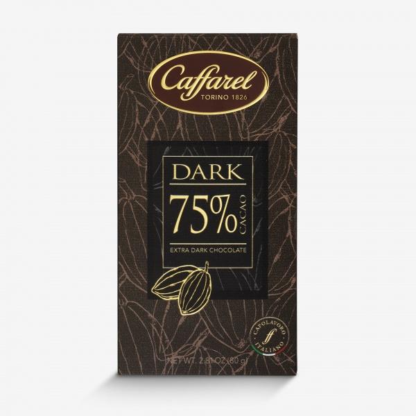 Dark: tavoletta extra-fondente 75% cacao