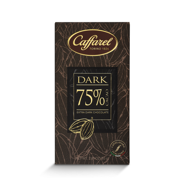 75% cocoa dark bar