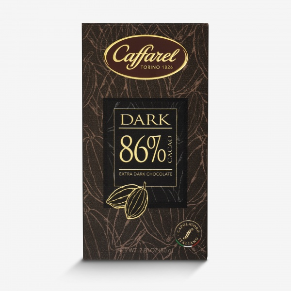Dark: tavoletta extra-fondente 86% cacao