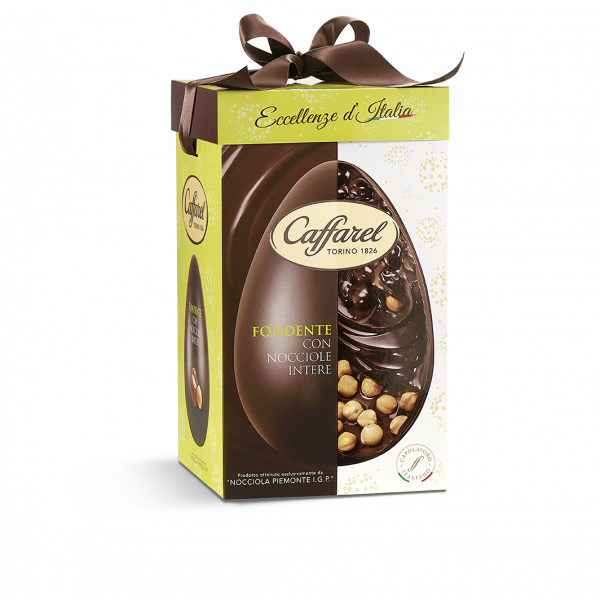 Eccellenze d'Italia: Dark Chocolate Egg with dried fruits