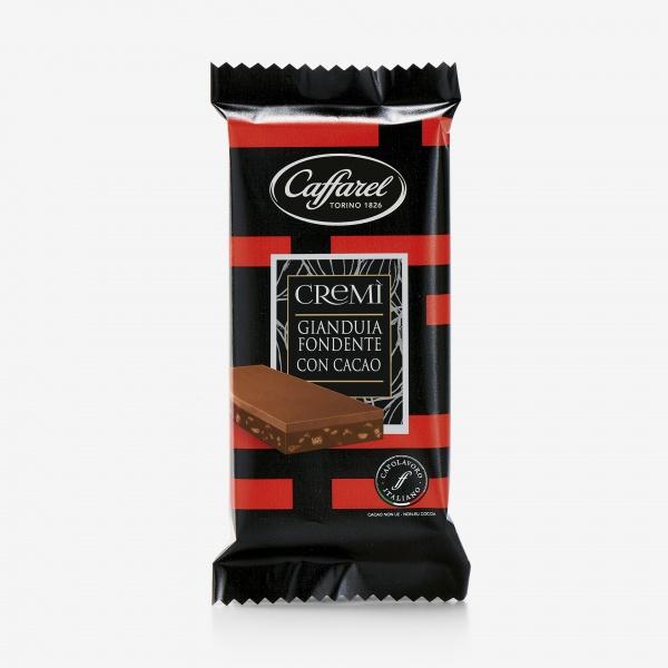 Cremì: tavoletta Gianduia fondente con cacao