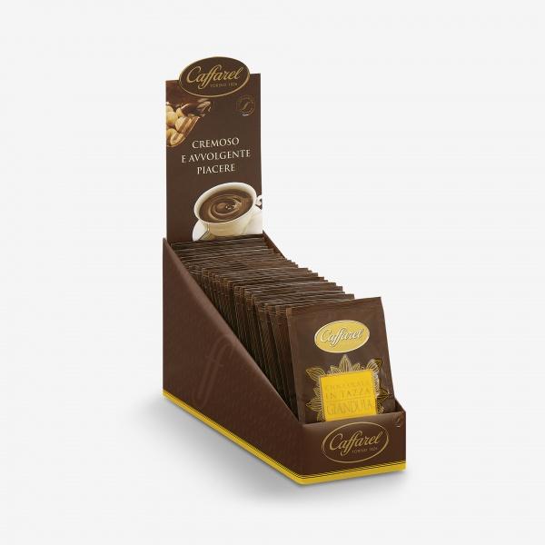 hot gianduja chocolate