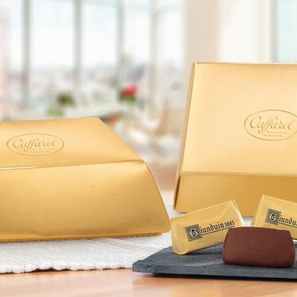 Gold ingot box