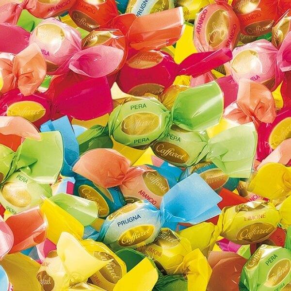 Bonbons e caramelle alla frutta