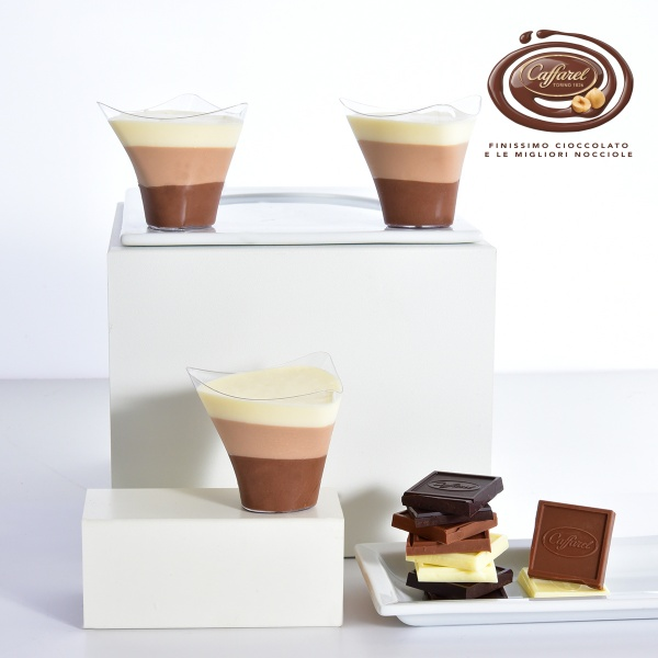Triple chocolate glasses