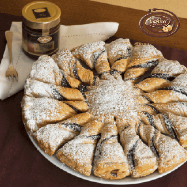 Puff Pastry with Dark Chocolate Cream